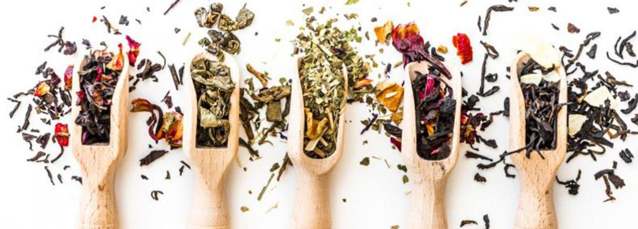 Ook vind u hier diverse theesoorten